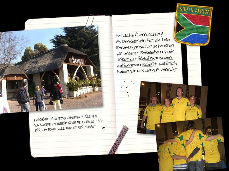 Südafrika-Reise - Gewinner auf Fußball-Safari