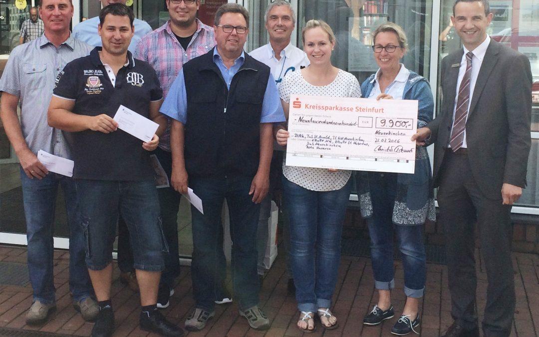 Fast 10.000 Euro für Neuenkirchener Sport