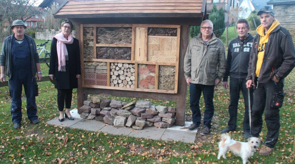 Zimmer frei für Biene und Käfer
