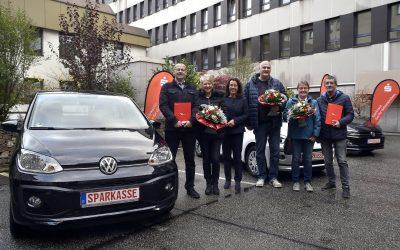 Drei Mal Glück in Gelsenkirchen
