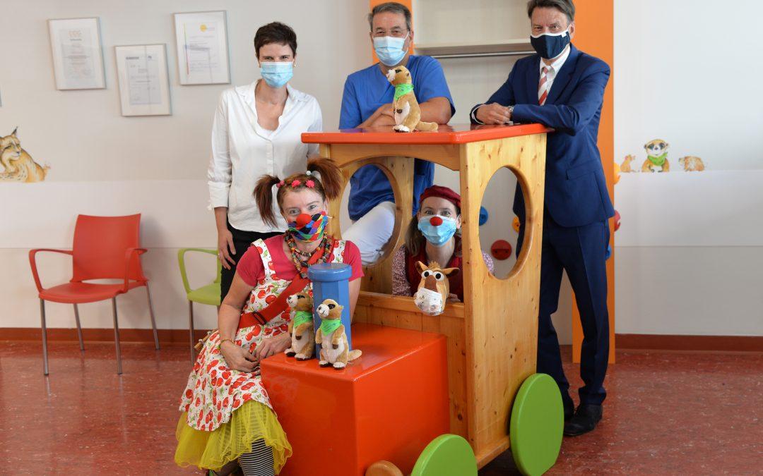 20.000 Euro für kinderfreundliches Klinikum