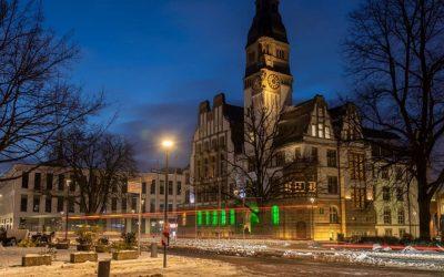 Grünes Leuchten in Gladbeck